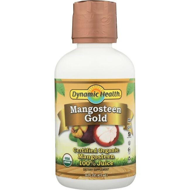 Dynamic Health Organic Certified Mangosteen Gold