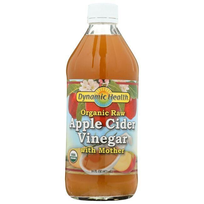Dynamic Health Organic Apple Cider Vinegar with Mother
