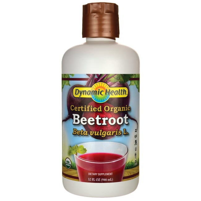 Dynamic HealthCertified Organic Beetroot Juice