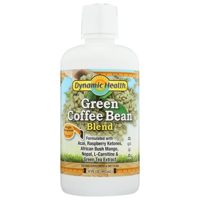 Dynamic Health Green Coffee Bean Extract Juice Blend