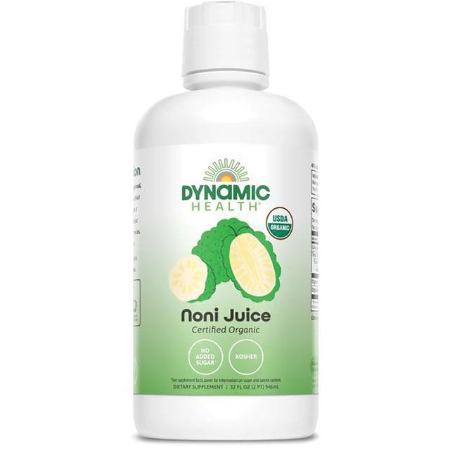 Dynamic HealthOrganic Certified Noni Morinda Citrifolia