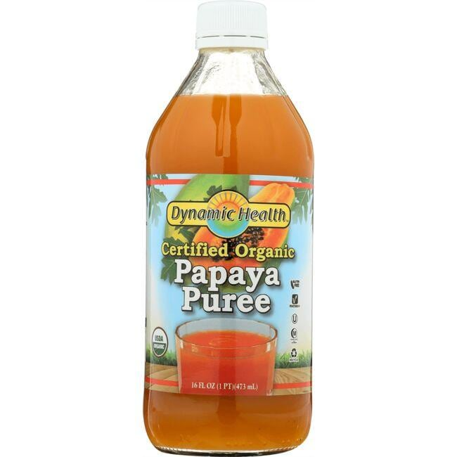 Dynamic Health Certified Organic Papaya Puree