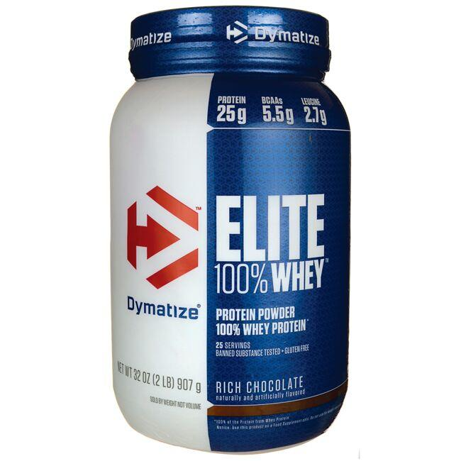 Dymatize Nutrition Elite 100% Whey Protein - Rich Chocolate