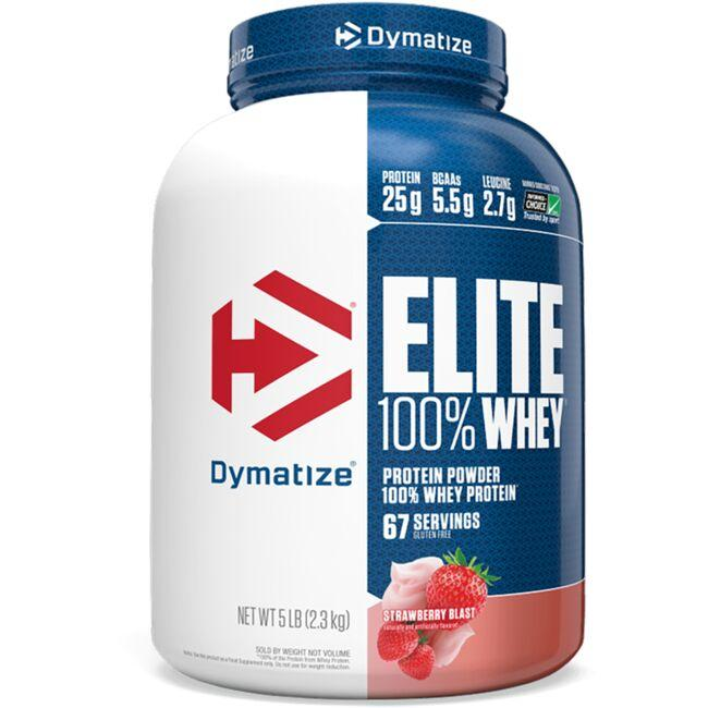Dymatize Nutrition Elite 100% Whey Protein - Strawberry Blast