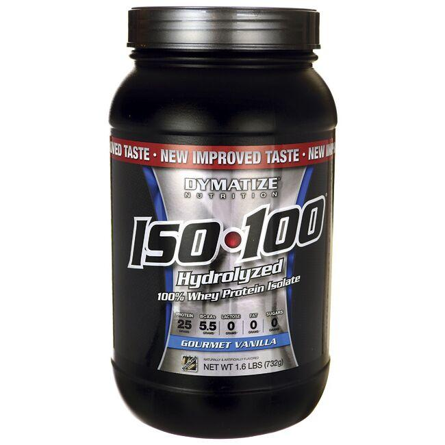 Dymatize Nutrition ISO 100 Hydrolyzed Whey Protein Isolate - Gourmet  Vanilla