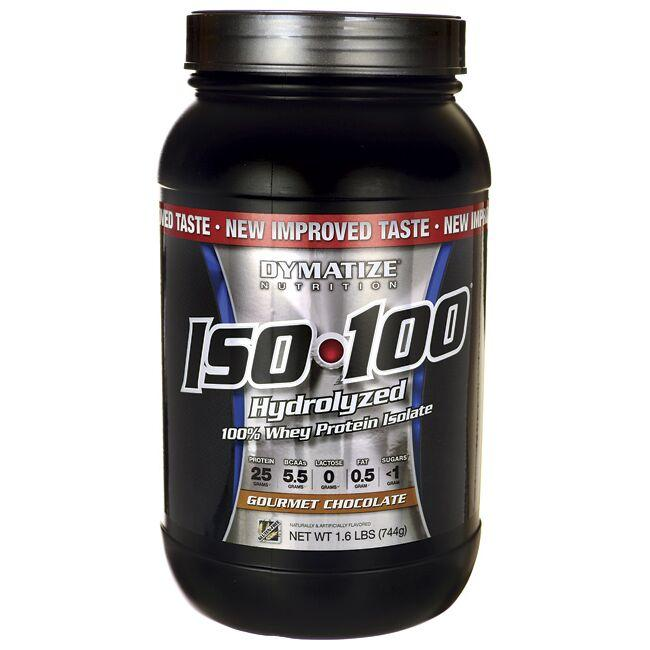 Dymatize Nutrition ISO 100 Hydrolyzed Whey Protein Isolate - Gourmet  Chocolate