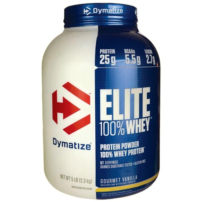 Dymatize NutritionElite 100% Whey Protein - Gourmet Vanilla