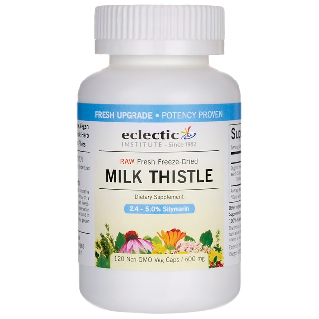 Eclectic Institute Raw Fresh Freeze-Dried Milk Thistle