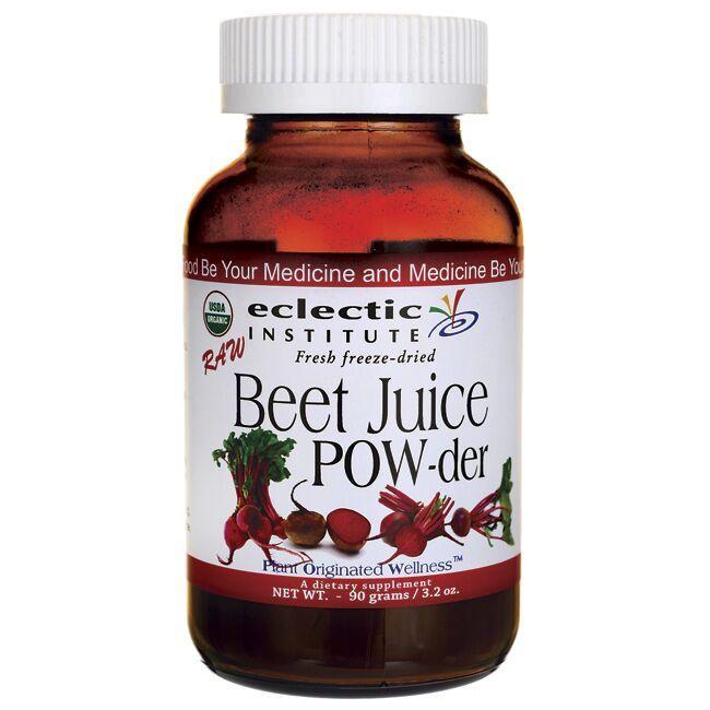 Eclectic InstituteFresh Freeze-Dried Raw Beet Juice POW-der