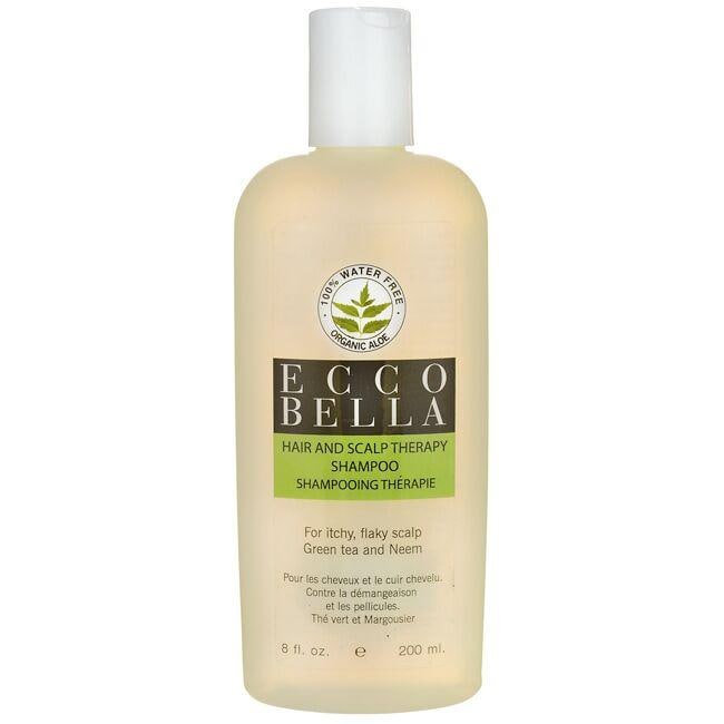 Ecco Bella Hair & Scalp Therapy Shampoo Green Tea and Neem