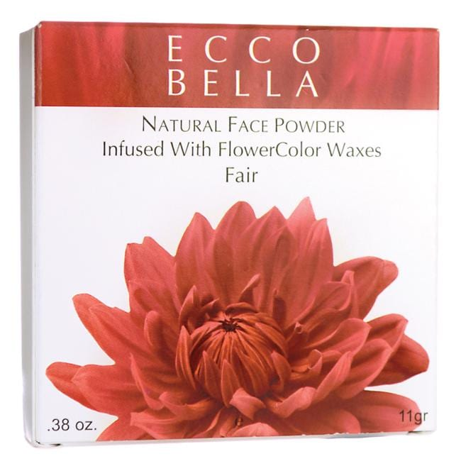 Ecco Bella Natural Face Powder Infused with FlowerColor Waxes - Fair