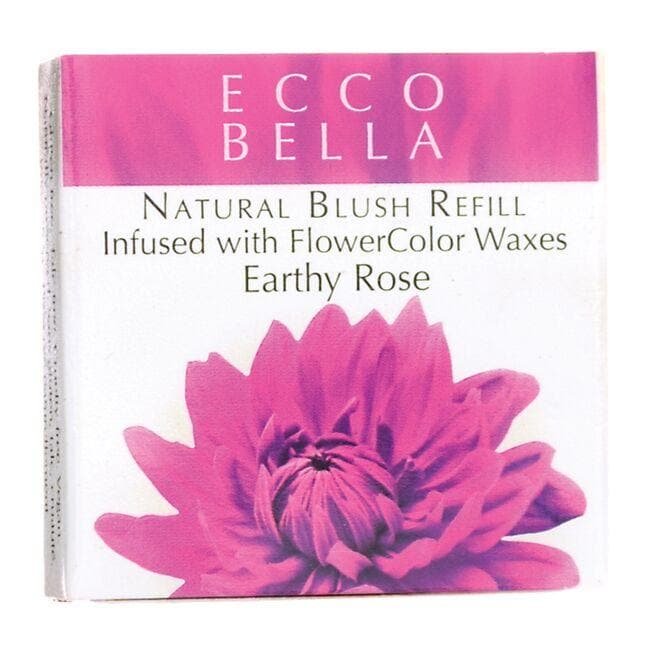 Ecco Bella Natural Blush Refill Infused with FlowerColor  - Earthy Rose