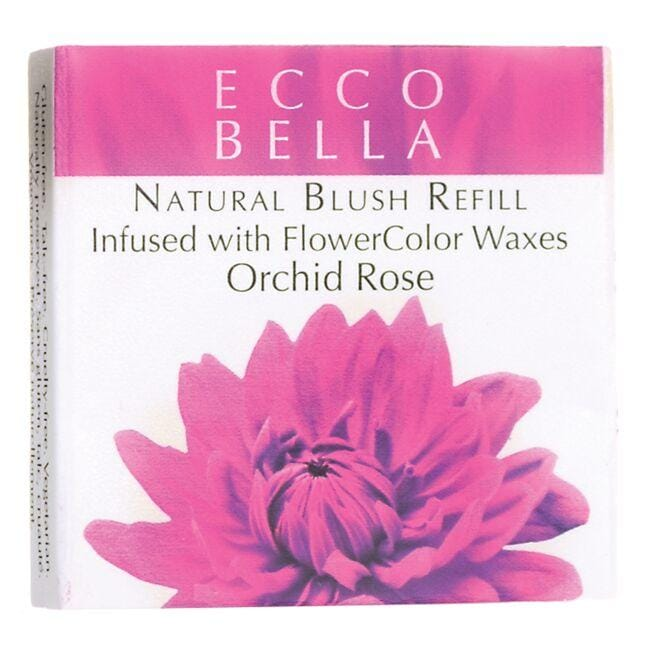 Ecco Bella Natural Blush Refill Infused with FlowerColor - Orchid Rose