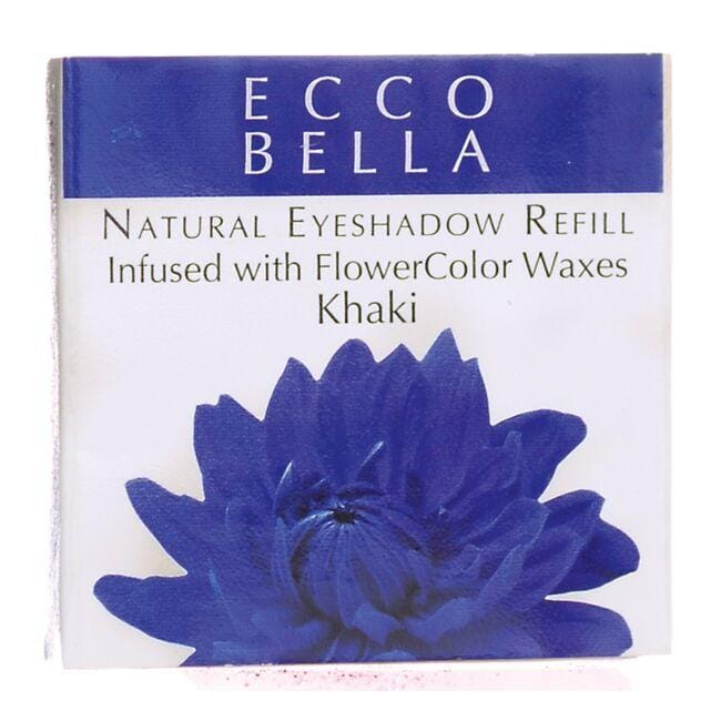 Ecco Bella Natural Eyeshadow Refill Infused with FlowerColor  - Khaki