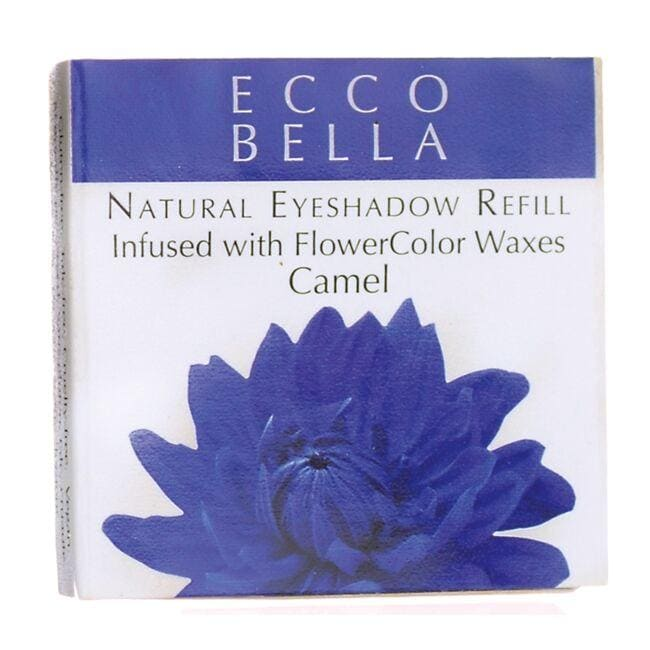 Ecco BellaNatural Eyeshadow Refill Inufsed with FlowerColor  - Camel