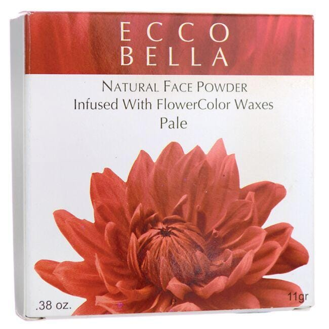Ecco Bella Natural Face Powder Infused with FlowerColor Waxes - Pale