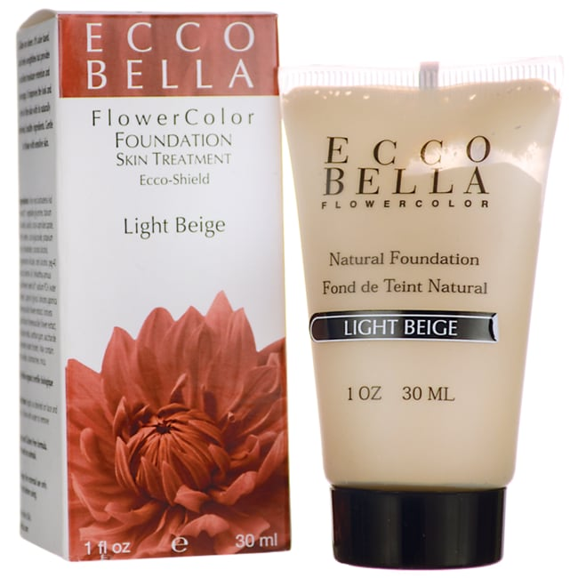Ecco BellaFlowerColor Natural Foundation SPF 15 - Light Beige