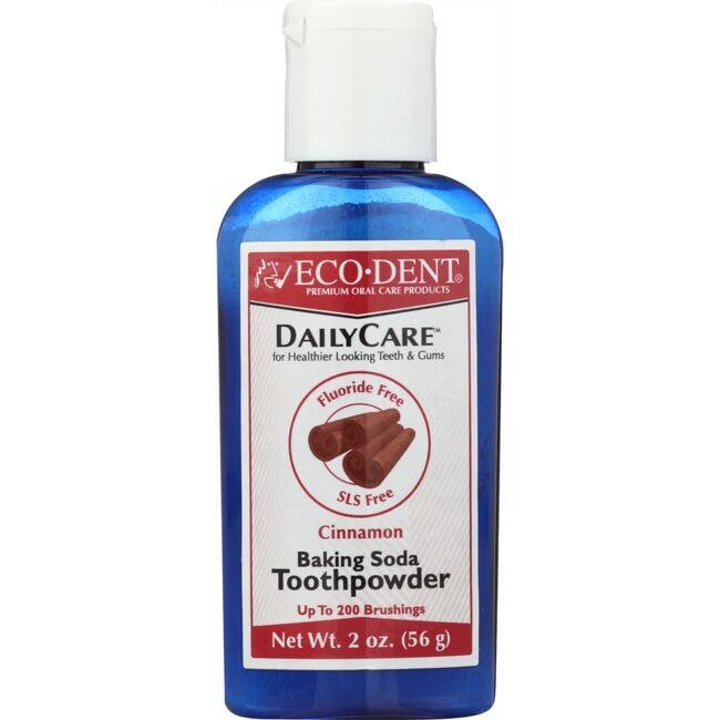 Eco-Dent Daily Care Baking Soda Toothpowder - Cinnamon
