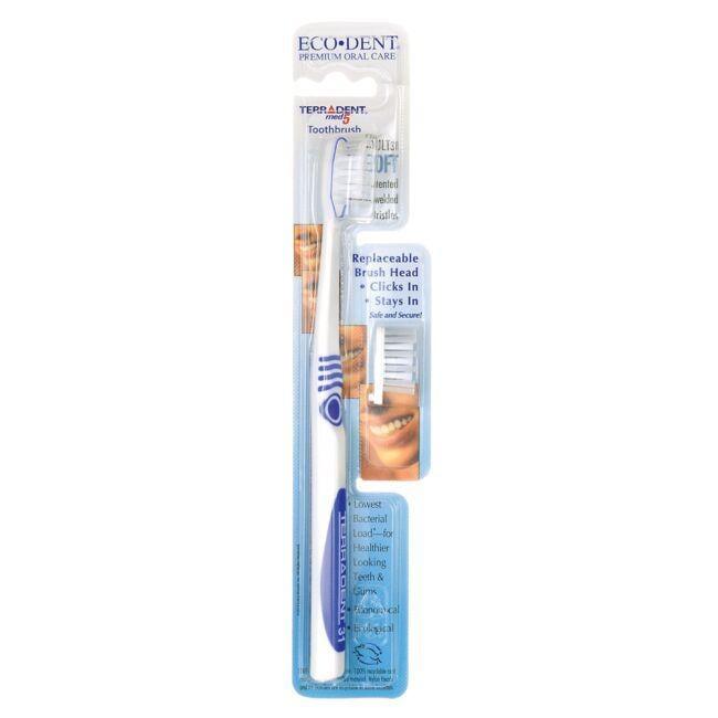 Eco-DentTerradent Med 5 Adult 31 Soft Toothbrush + Refill