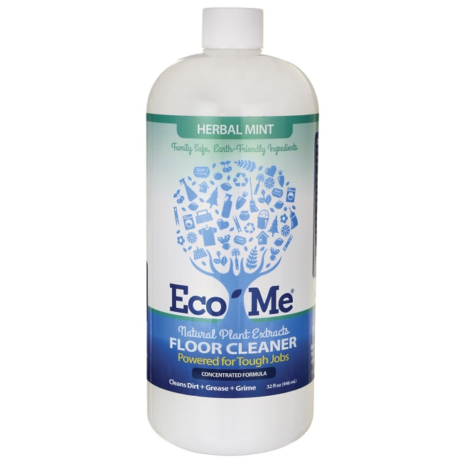 Eco-Me Natural Plant Extracts Floor Cleaner - Herbal Mint