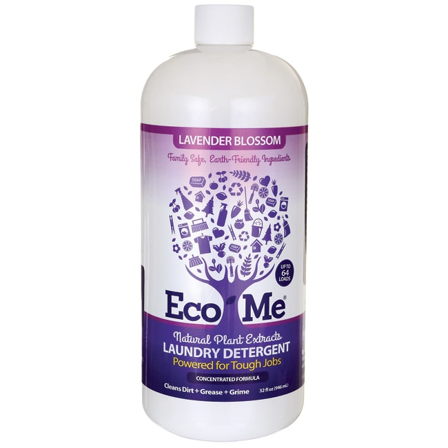 Eco-MeNatural Plant Extracts Laundry Detergent - Lavender Blossom