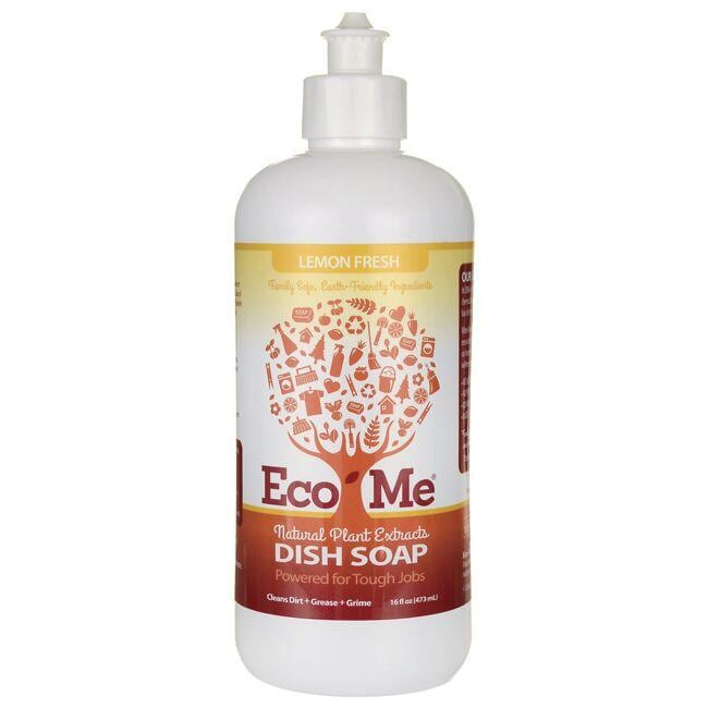Eco-Me Natural Plant Extracts Dish Soap - Lemon Fresh