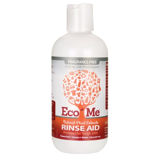 Eco-MeNatural Plant Extracts Rinse Aid - Fragrance-Free