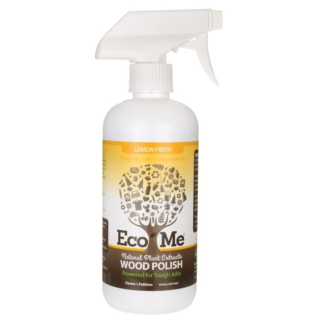 Eco-MeNatural Plant Extracts Wood Polish - Lemon Fresh