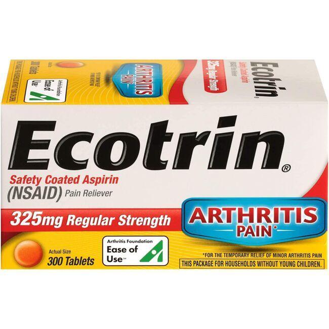 EcotrinRegular Strength Aspirin