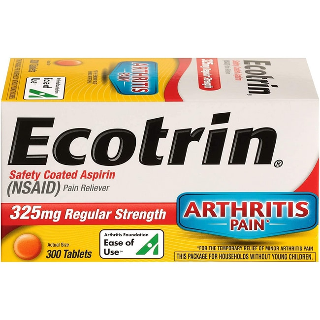 Ecotrin Regular Strength Aspirin