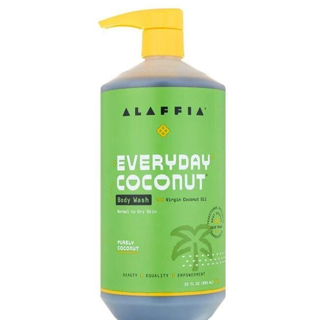 Alaffia Body Wash - Coconut & Coffee Berry