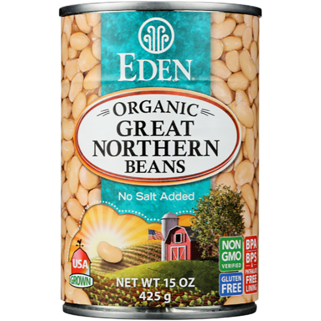 Eden FoodsGreat Northern Beans Organic