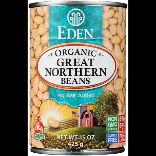 Eden Foods Great Northern Beans Organic