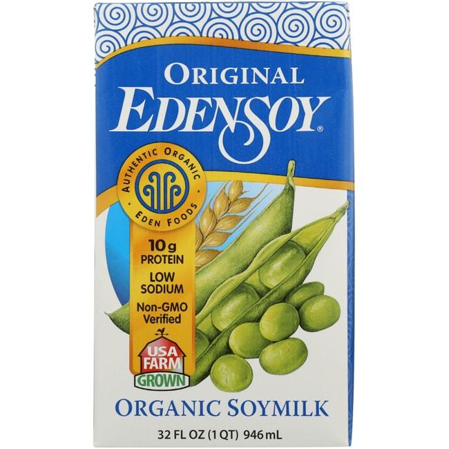 Eden FoodsOrganic Edensoy Original Soymilk