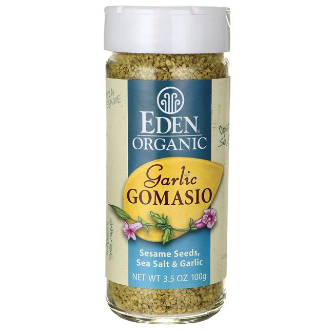Eden Foods Organic Garlic Gomasio - Sesame Seeds, Sea Salt & Garlic