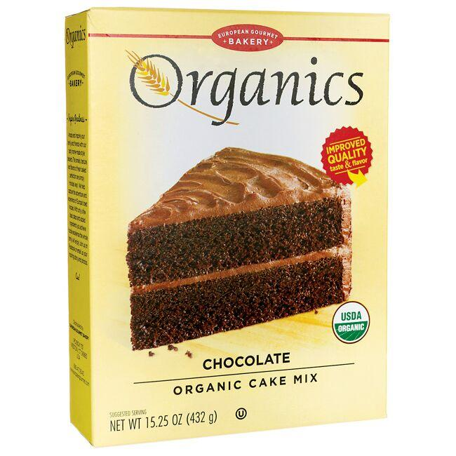 European Gourmet Bakery Organics Cake Mix - Chocolate