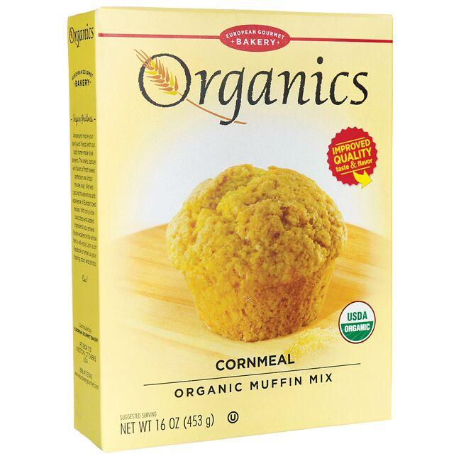 European Gourmet Bakery Organics Muffin Mix - Cornmeal