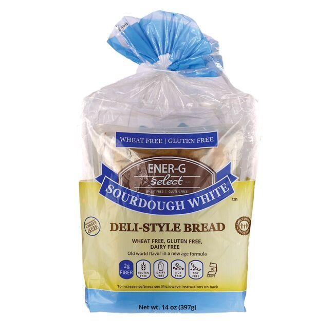 Ener-G Foods Select Sourdough White Deli-Style Bread