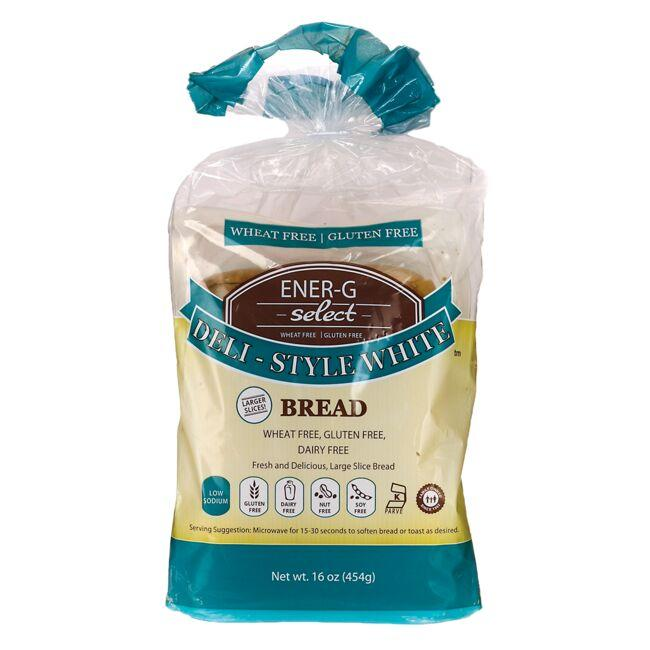 Ener-G FoodsSelect Deli-Style White Bread