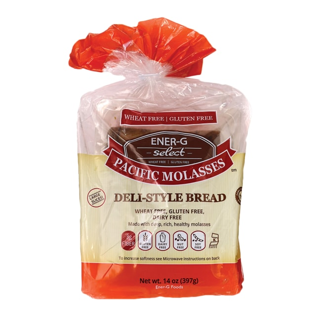 Ener-G FoodsSelect Pacific Molasses Deli-Style Bread