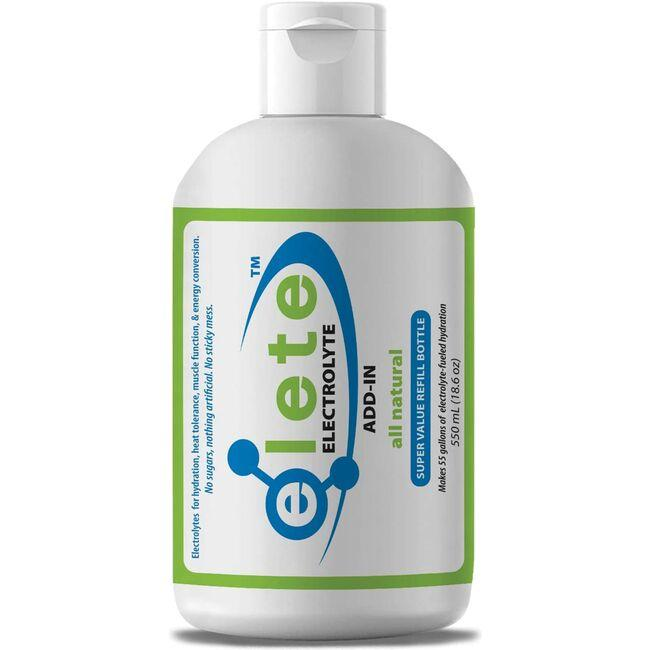 EleteElectrolyte Add-In Economy Refill Bottle