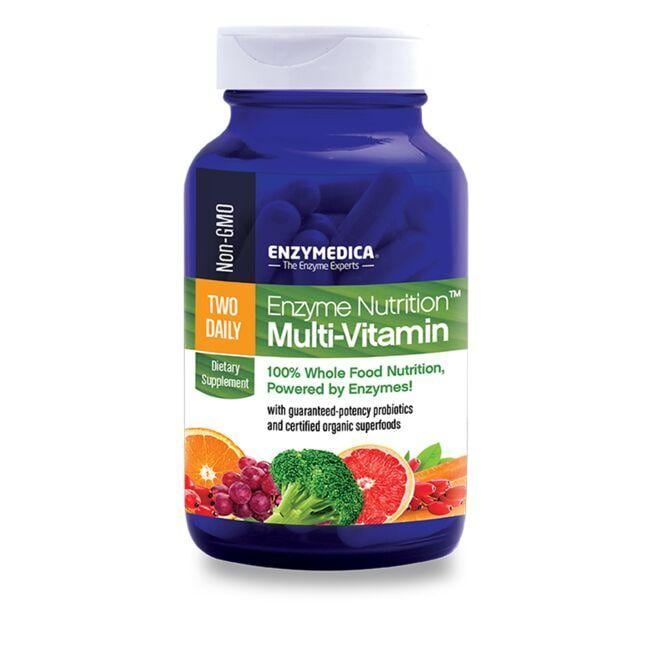 EnzymedicaTwo Daily Enzyme Nutrition Multi-Vitamin