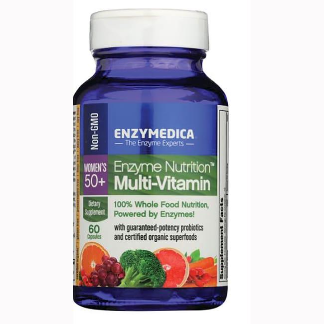 50 + enzima nutrición multi-vitamina 60 Caps Productos para tu Salud en de Enzymedica mujeres Veo y Compro  + Fórmulas de multivitaminas y minerales - Mujeres en Veo y Compro