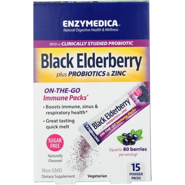 EnzymedicaBlack Elderberry Immune Packs