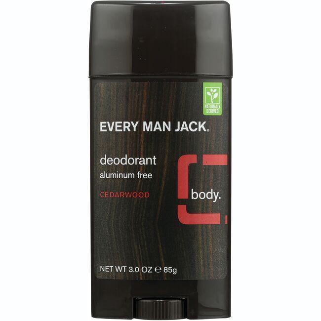 Every Man JackDeodorant Aluminum Free - Cedarwood