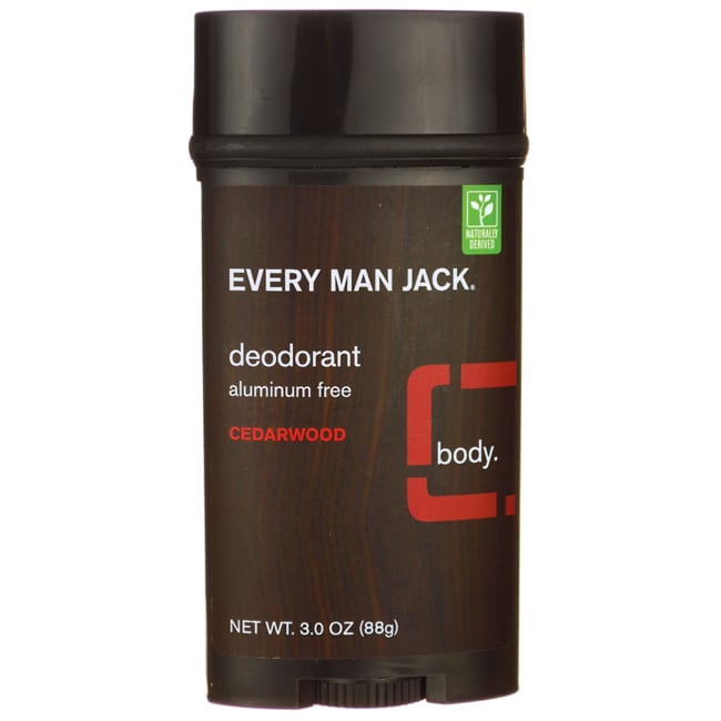 Every Man Jack Deodorant Stick Aluminum Free Sandalwood will give you long lasting odor protection. Cotton extract and witch hazel absorb wetness. Every Man Jack Deodorant Stick Aluminum Free Sandalwood contains essential oils of sandalwood that leave you feeling fresh and clean.