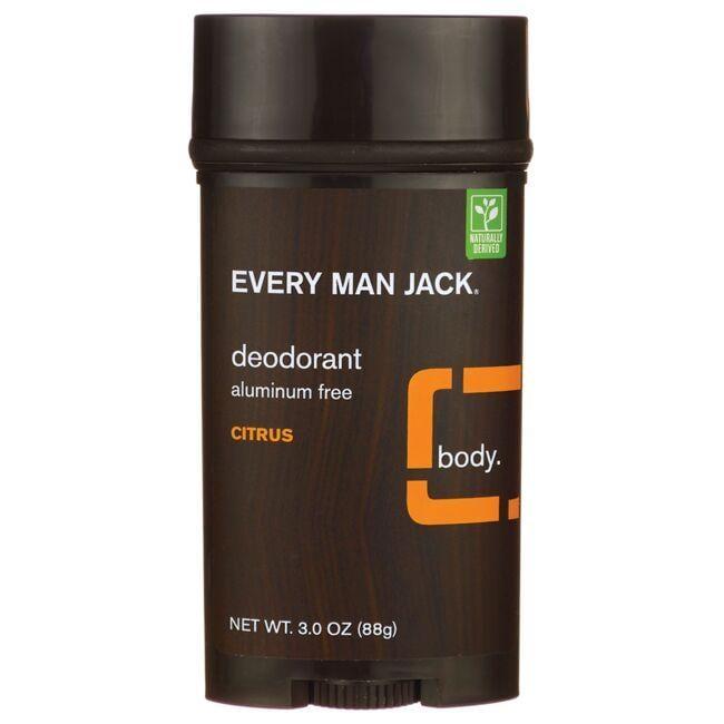 Every Man JackDeodorant Aluminum Free - Citrus