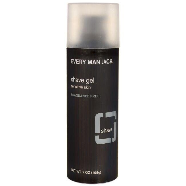 Every Man Jack Shave Gel Sensitive Skin Fragrance Free