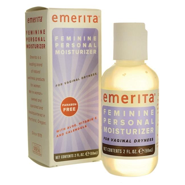Emerita Feminine Personal Moisturizer with Aloe, Vit E & Calendula