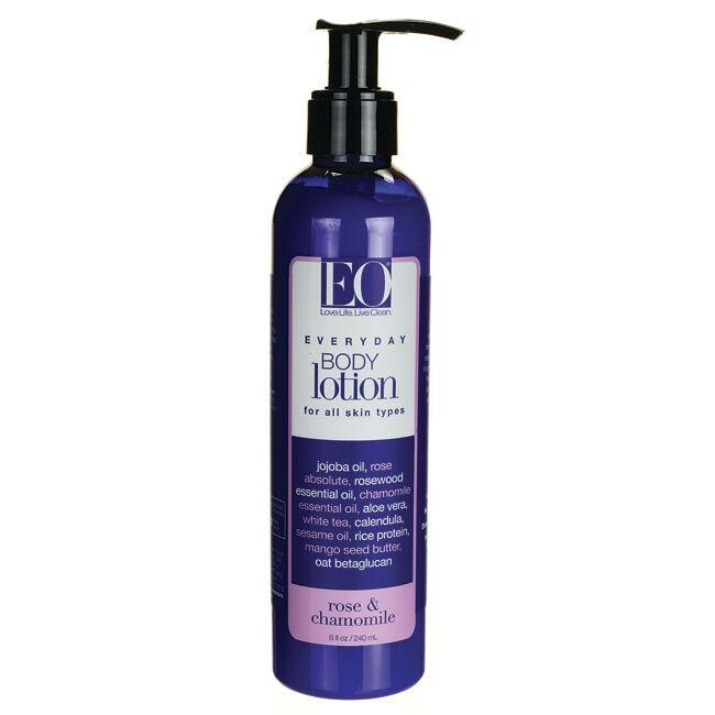 EO Products Body Lotion - Rose and Chamomile